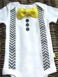 Baby+Boy+Clothes++Bow+Tie+Onesie++Suspenders+by+SewLovedBaby,+$20.99