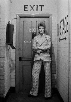 "David Bowie, ""I Saw You Again in the Rainbow Theater"" | Masayoshi Sukita"