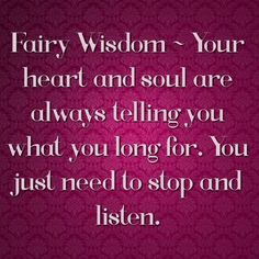 Fairy Wisdom by Elizabeth Saenz at TheExpanded Gateway