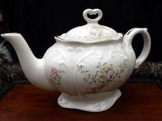 Large Tea Pot - Staffordshire Royal Park Porcelain Teapot 11214