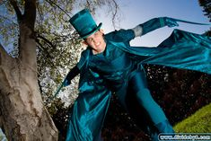 Hatter Madigan from the Looking Glass Wars! Repinning for the Mister. :)
