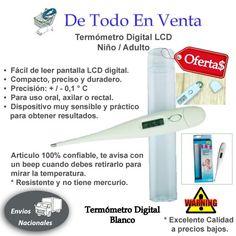 Termómetro Digital Blanco