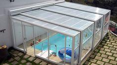 Swimming Pool Enclosures, Swimming Pools Backyard, Swimming Pool Designs, Small Backyard Pools, Ponds Backyard, Ideas De Piscina, Build My Own House, Rooftop Design, Swiming Pool