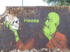 Street-art Romain by @HOGRE, quartier San Lorenzo, ROME