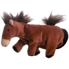 Hape Beleduc Kid's Horse Glove Hand Puppet ** Click image to review more details. (This is an affiliate link) #Puppets