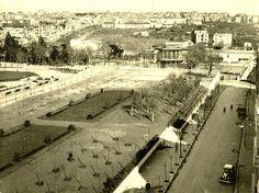 1944 yılında Gezi Parkı'nın ilk fotoğrafları. (Gezi parkı ağaçlarının dikildiği yıllar)