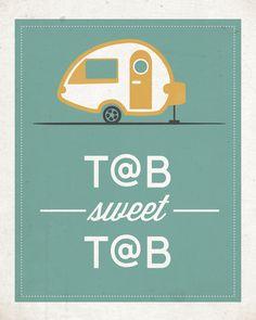 T@B sweet T@B print by Lili Ribeira.  Starting at $20.