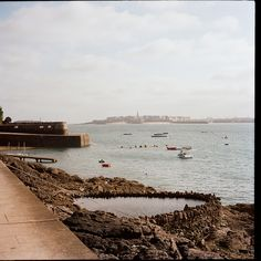 St Malo from Dinard, France