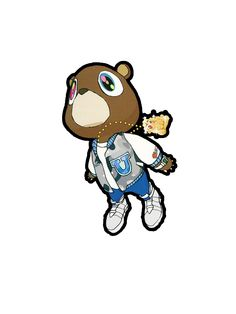 Kanye West Graduation Bear