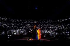 Adele at the Sportpaleis in Antwerp on June 13, 2016