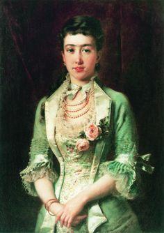 1879 Konstantin Makovskiy - The elder sister of the artist's wife