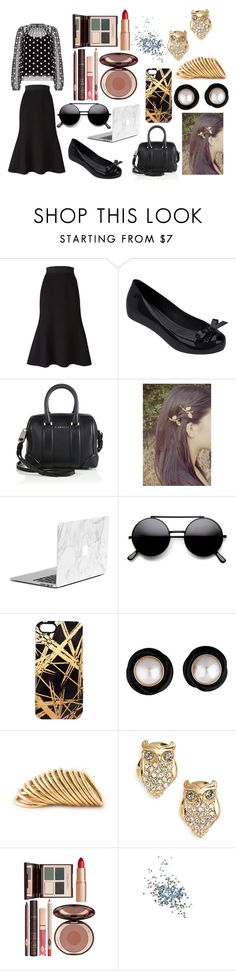 """""""Sin título #2165"""" by onedirection-h1n1l2z1 ❤ liked on Polyvore featuring moda, Dolce&Gabbana, Melissa, Givenchy, Khristian A. Howell, Shaun Leane, Kate Spade, Charlotte Tilbury y Topshop"""