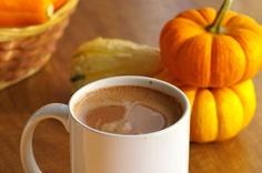 Vegan Hot Cocoa with coconut milk!