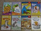 Set Of 8 Children's Books First Time Readers Picture Books Pre-K to Gr 1 Age 3-8