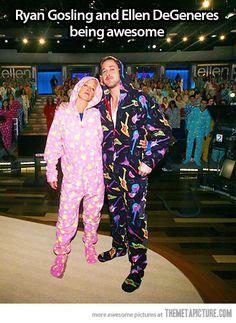 Pajama awesomeness…