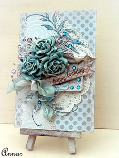 Birthday Card - Scrapbook.com  Blues