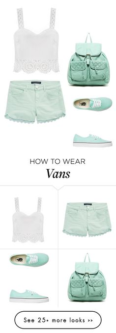 """""""Turquoise"""" by agdancer10 on Polyvore featuring T-shirt & Jeans, Tinsel and Vans"""