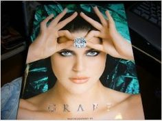 Larger in size book. little to no writting. mostly full page (ad type) photos. all focus is on Jewels. Hardback