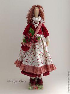 Купить КАЖДЫЙ (красный) - ярко-красный, тильда, тильда кукла, бохо, бохо-стиль