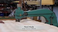 The Futon Shop Mattress Production from Start to Finish Virgin Wool Orga...