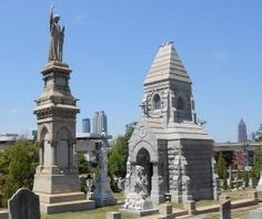 Click this pin to discover some of Oakland Cemetery's most romantic love stories!