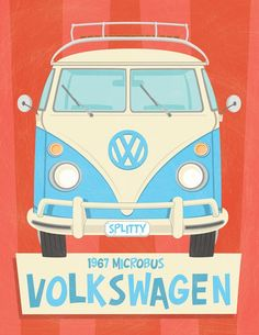 My 67 VW Bus I did this image of :)