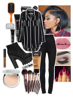 """""""Packing for college today leaving tomorrow"""" by lovesyddiebear ❤ liked on Polyvore featuring Charlotte Tilbury, It Cosmetics, Younique, MAC Cosmetics, Bobbi Brown Cosmetics, Dolce&Gabbana, Sephora Collection, Denman, Forever 21 and NARS Cosmetics"""