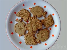 egycsipet: Fűszeres mézeskeksz Gingerbread, Biscuits, Food And Drink, Appetizers, Cookies, Baking, Recipes, Blog, Ginger Beard