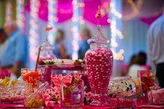 Decoração de festa: candy bar!