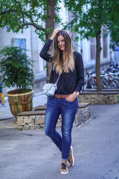 Bon plan : -50% chez Pimkie ! Nouveau Look, Body, Mom Jeans, Pants, Style, Fashion, Leopard Sneakers, Outfits, Fall Season