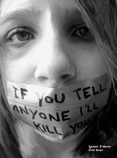 Child abuse is a horrible thing. Children have grown up learning and loving their parents.. They believe in them. They won't stick up for themselves, they are kids.. They are scared and feel alone. They feel as if they have no say.