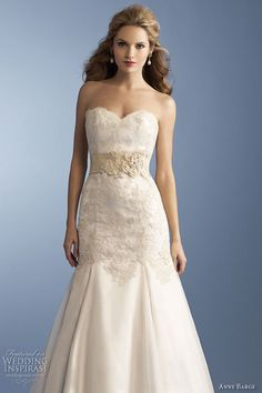 Anne Barge Spring 2012 bridal collection