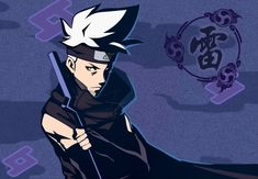 one of protagonist from naruto online game Midnight Blade Naruto Kakashi, Naruto Art, Naruto Shippuden Characters, Character Art, Character Design, Naruto Mobile, Fanart, Kirito, Illustrations And Posters