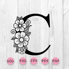 Flower Alphabet, Flower Letters, Hand Embroidery Patterns Free, Anemone Flower, Craft Patterns, Shabby, Stencils, Paper Crafts, Illumination Art