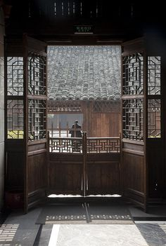 A traditional southern style terrace residence in Wenzhou, Zhejiang province