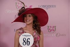 Longines Kentucky Oaks 139 Fashion Contest Preakness Stakes, Run For The Roses, Races Fashion, Derby Day, Kentucky Derby, Horse Racing, Lds, Headpieces, My Style
