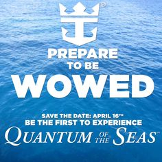Can't wait!!! I plan to be on the inaugural sailing of RCCL's newest ship!  How about you? #QuantumOfTheSeas #CantWait2SailAway