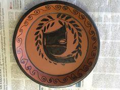 Greek Crafts, Art Classroom, Ancient Greece, Terracotta, Decorative Plates, Paintings, Google, Gifts, Greek