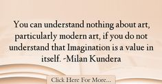 Milan Kundera Quotes About Imagination - 37664
