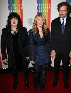 High Res Ann Wilson & Nancy Wilson & husband Geoff Bywater