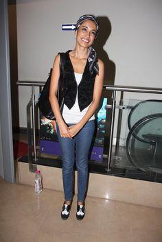 Sarah Jane Dias at Special Screening of Chashme Baddoor.