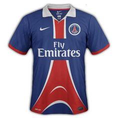 Photos : Maillots domicile et extérieur du PSG saison 2012-2013, idée #14 - LudovicPSG - Blog Football.fr