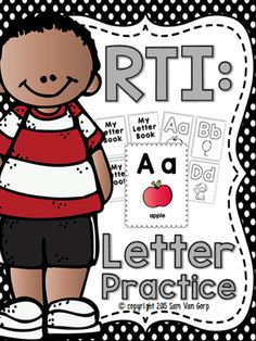 Looking for ways to increase your students' letter recognition and identification skills? With just 5 minutes a day, this letter intervention book will give your students the skills they need to be able to recognize and identify letters automatically.