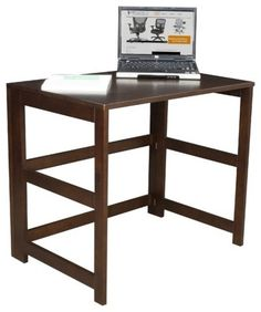 The Regency Flip Flop Folding Desk is a great addition to your dorm, office, or home. This versatile desk requires no tools to assemble and. Home Office Desks, Home Office Furniture, School Furniture, Folding Desk, Solid Wood Desk, Best Desk, Furniture Removal, Furniture Design, Space Furniture