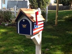Your place to buy and sell all things handmade Fascia Board, Cedar Shingles, Red Cedar, Exterior Paint, Mailbox, American Flag, Toy Chest, Handsome, Construction