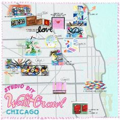 Have you checked out our Chicago Wall Crawl from ✨Wall Crawl Correspondent✨ yet! Gooooooo and see Rosie's fave colorful spots,… Chicago Murals, Chicago Map, Visit Chicago, Chicago Travel, Chicago Blog, Chicago Shopping, Chicago Style, Travel Portland, Chicago Vacation