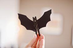 Estéfi Machado: Morcegos de papel * Enfeites de Halloween
