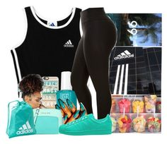 """Untitled #866"" by kaja-bear ❤ liked on Polyvore featuring adidas, Prada, Casetify, Essie, Michael Kors and adidas Originals"