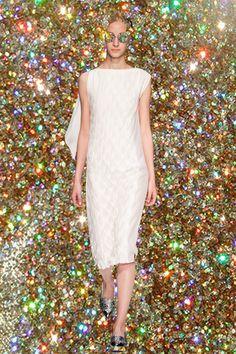Shoulder Dress, One Shoulder, Ss16, White Dress, High Neck Dress, Formal Dresses, Fashion, Turtleneck Dress, Dresses For Formal