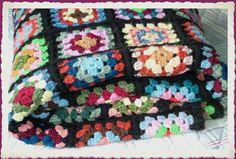 Granny square crochet blanket   I must learn how to crochet. . . . . . .